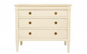 Gustavian chest of 3 drawers